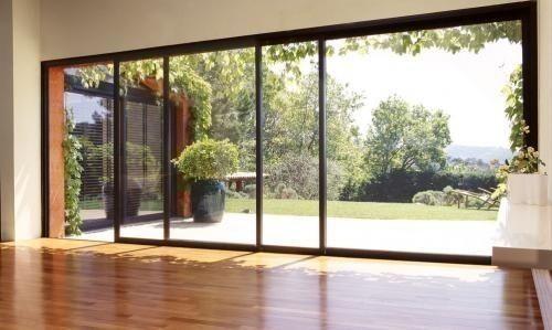 porte fen tre ou porte coulissante. Black Bedroom Furniture Sets. Home Design Ideas