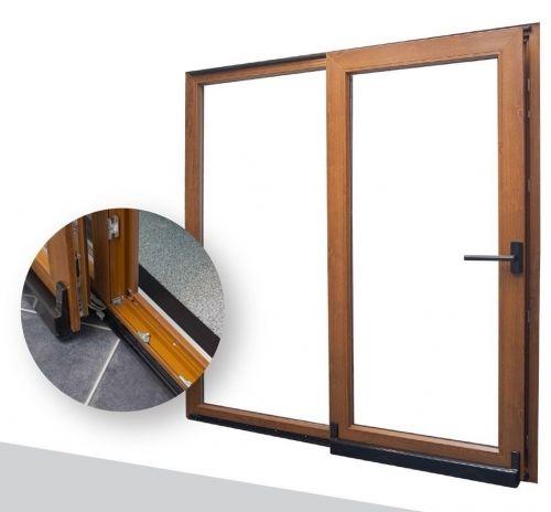 quelle mati re choisir pour ses portes coulissantes. Black Bedroom Furniture Sets. Home Design Ideas